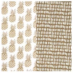 mouchoirs en coton large duo