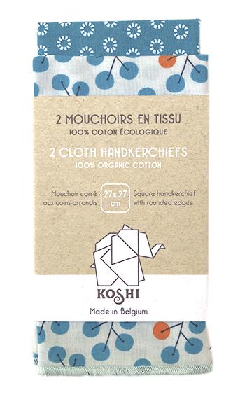 mouchoirs en coton duo small
