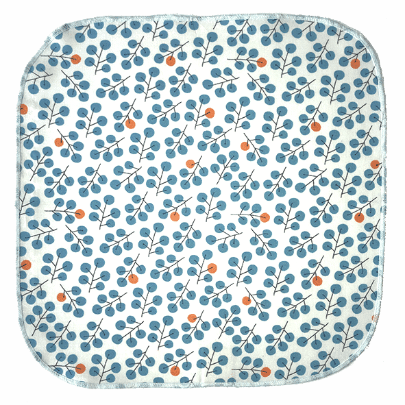 mouchoir solo small baie bleue