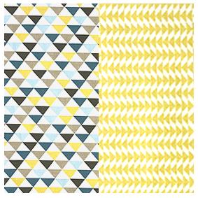 Mouchoirs en coton duo Large - Pyramide