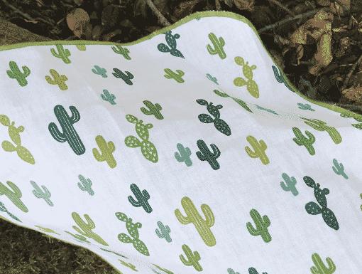 Mouchoir en tissu Koshi cactus