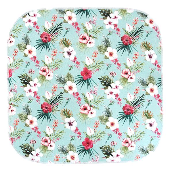 mouchoirs en tissu koshi paradis fleurs
