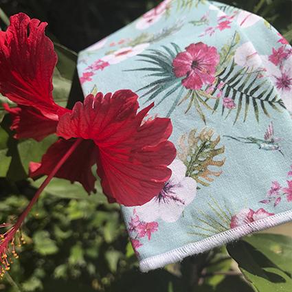 mouchoirs en tissu koshi paradis