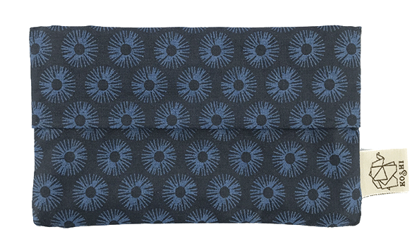 pochette koshi fleurs de nuit