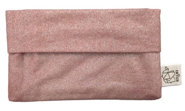 pochette rose pour mouchoirs