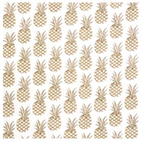 mouchoir en tissu ananas