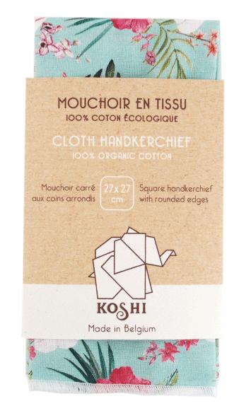 mouchoir en coton solo