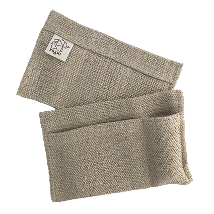 Koshi Kit huile essentielle et mouchoir en tissu. Thème Bonheur