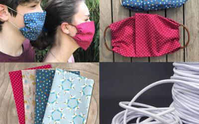 Action Coronavirus: Fabriquez votre masque anti-projection en 1 minute