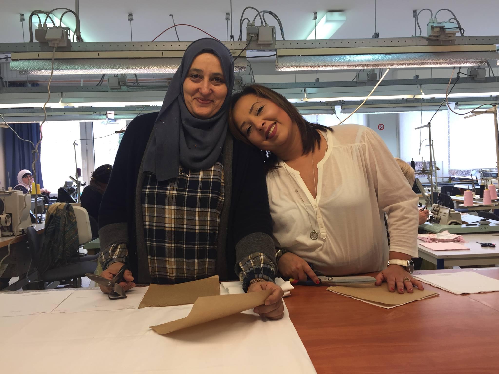 employées de l'atelier Koshi