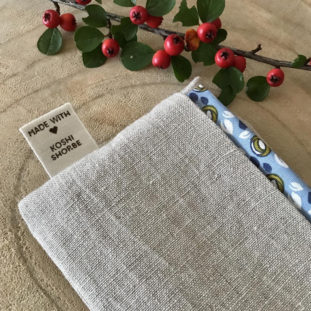 POchette et mouchoir en tissu
